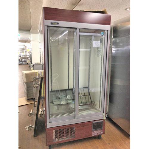 【中古】冷蔵リーチインショーケース ホシザキ RSC-90DT-B 幅900×奥行450×高さ1880 【送料別途見積】【業務用】