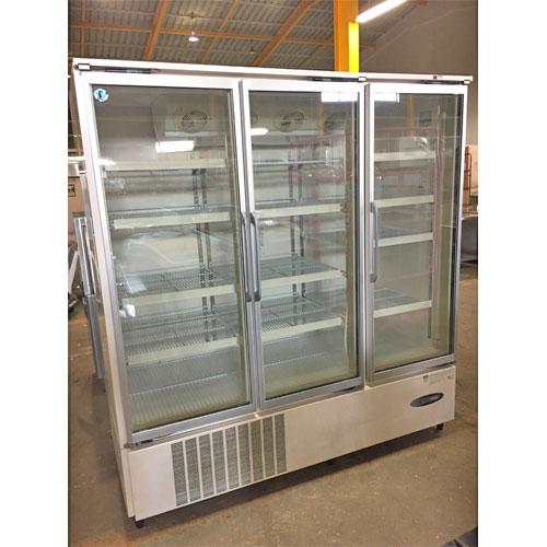 【中古】冷凍リーチインショーケース ホシザキ USF-180X3-1 幅1800×奥行800×高さ1900 三相200V 【送料無料】【業務用】【厨房機器】