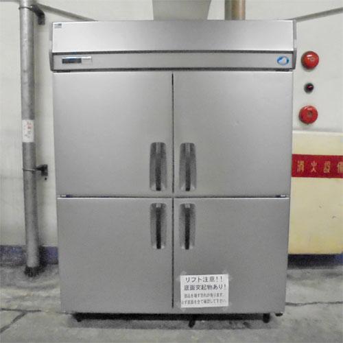 【中古】4ドア 冷蔵庫 パナソニック(Panasonic) SRR-K1561S 幅1460×奥行680×高さ1925 【送料別途見積】【業務用】