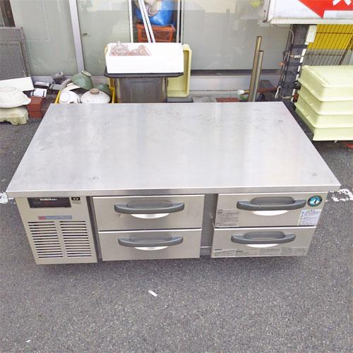 【中古】冷蔵ドロワーコールドテーブル ホシザキ RTL-120DDC 幅1200×奥行750×高さ550 【送料無料】【業務用】【厨房機器】