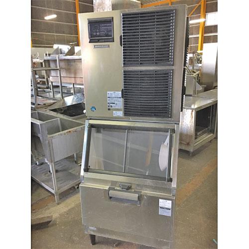 【中古】チップアイス製氷機 ホシザキ CM-450AK 幅700×奥行790×高さ1790 三相200V 【送料無料】【業務用】【厨房機器】