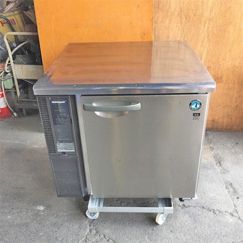【中古】冷蔵コールドテーブル ホシザキ RT-80SDE1 幅800×奥行800×高さ800 【送料別途見積】【業務用】