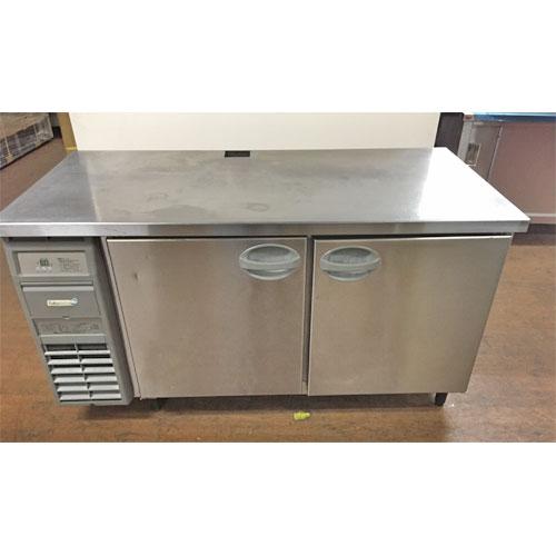 【中古】冷蔵コールドテーブル フクシマガリレイ(福島工業) YRC-150RE 幅1500×奥行750×高さ800 【送料無料】【業務用】