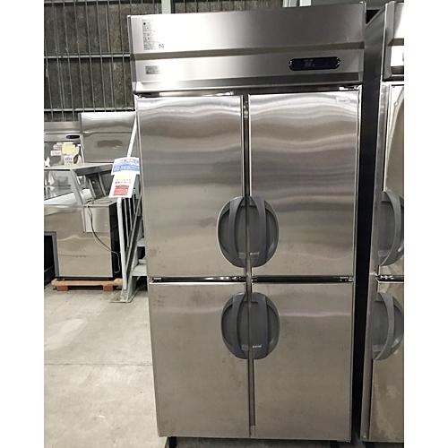 【中古】縦型冷凍庫 福島工業(フクシマ) URD-094FMD6 幅900×奥行800×高さ1950 三相200V 【送料別途見積】【業務用】【厨房機器】