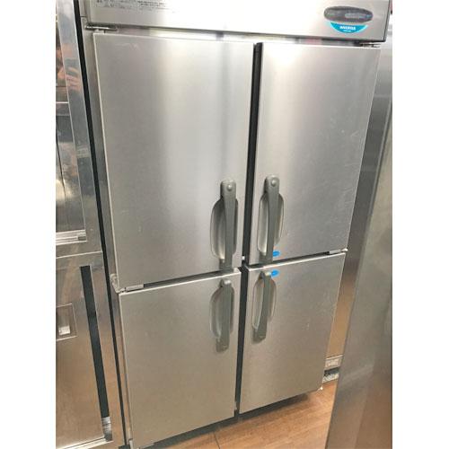【中古】縦型冷凍冷蔵庫(2/2) ホシザキ HRF-90XF3 幅900×奥行800×高さ1890 【送料別途見積】【業務用】