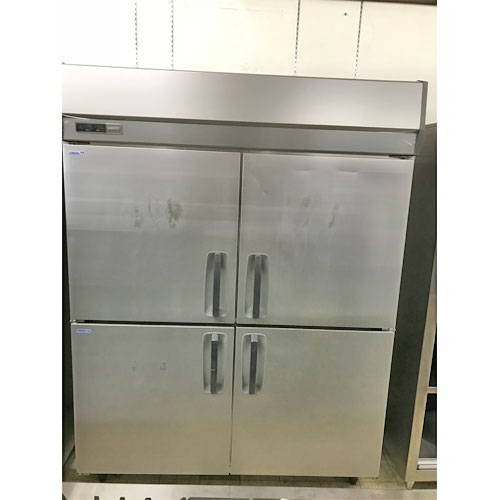 【中古】縦型冷凍冷蔵庫 三洋 SRR-K1583C2 幅1460×奥行800×高さ1950 三相200V 【送料無料】【業務用】