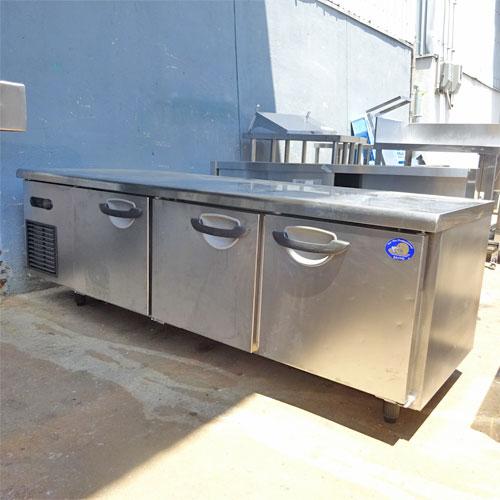 【中古】低冷蔵コールドテーブル 三洋電機 SUR-GL1861S 幅1800×奥行600×高さ600 【送料別途見積】【業務用】