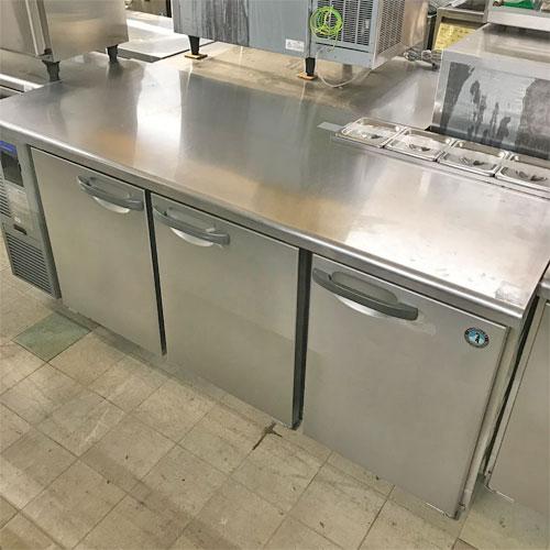 【中古】冷蔵サンドイッチコールドテーブル ホシザキ RT-180SDF-H 幅1800×奥行750×高さ800 【送料無料】【業務用】