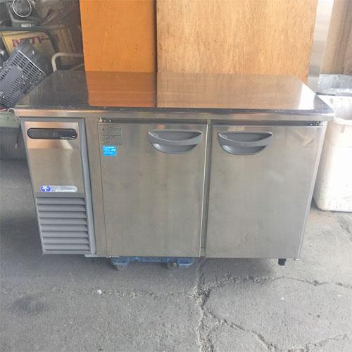 【中古】冷蔵コールドテーブル フクシマガリレイ(福島工業) TRC-40RE1 幅1200×奥行600×高さ800 【送料別途見積】【業務用】