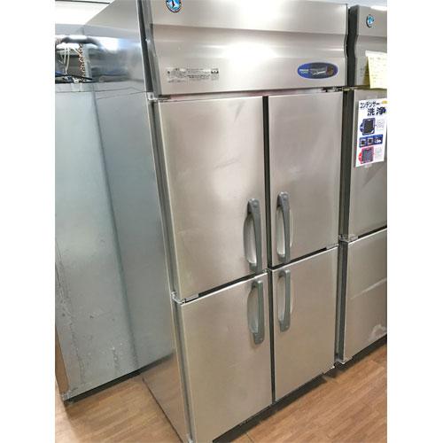 【中古】縦型冷蔵庫4ドア ホシザキ HR-90ZT-ML 幅900×奥行650×高さ1890 【送料別途見積】【業務用】