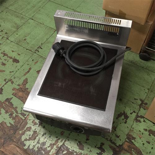 【中古】電磁調理器BG ホシザキ HIH-5CB 幅450×奥行600×高さ280 三相200V 【送料無料】【業務用】