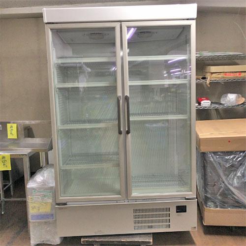 【中古】冷蔵リーチインショーケース パナソニック(Panasonic) SRM-461NB 幅1200×奥行640×高さ1900 【送料別途見積】【業務用】【厨房機器】