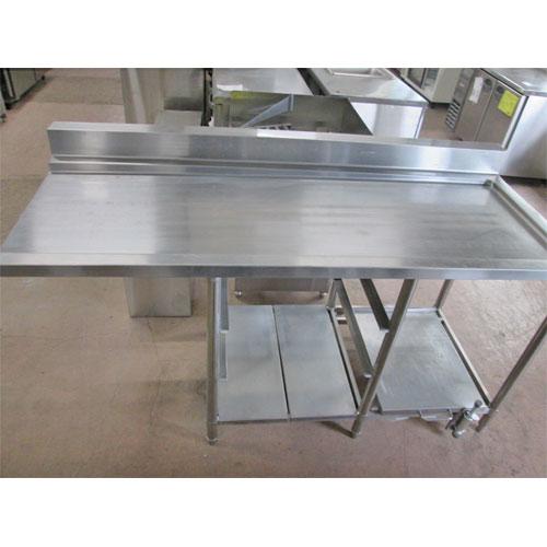 【中古】炊飯台付きソイルドテーブル 幅1700×奥行720×高さ850 【送料無料】【業務用】
