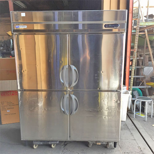 【中古】冷凍冷蔵庫 福島工業(フクシマ)(フクシマ) URD-51PM1 幅1490×奥行800×高さ1940 【送料無料】【業務用】