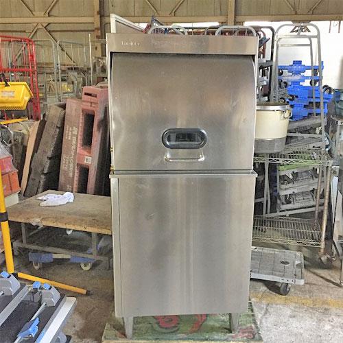 【中古】食器洗浄機 タニコー TDWE-4DB3R 幅600×奥行620×高さ1355 三相200V 50Hz専用 【送料無料】【業務用】