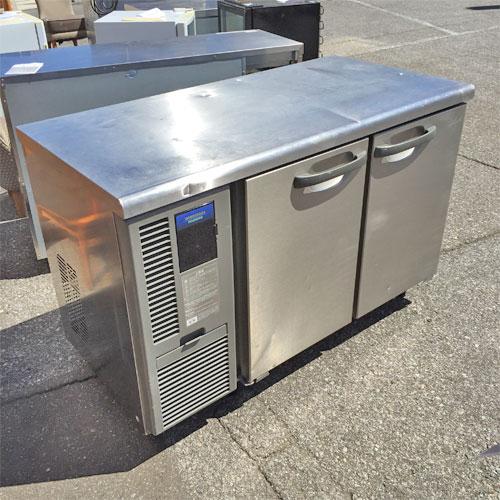 【中古】冷蔵コールドテーブル ホシザキ RT-120SNF-E 幅1200×奥行600×高さ800 【送料別途見積】【業務用】