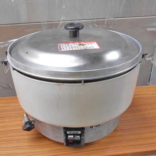 【中古】ガス炊飯器 リンナイ RR-40S1 幅560×奥行510×高さ420 都市ガス 【送料別途見積】【業務用】