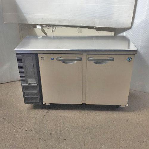 【中古】冷凍冷蔵コールドテーブル ホシザキ RFT-120PET1 幅1200×奥行450×高さ790 【送料別途見積】【業務用】