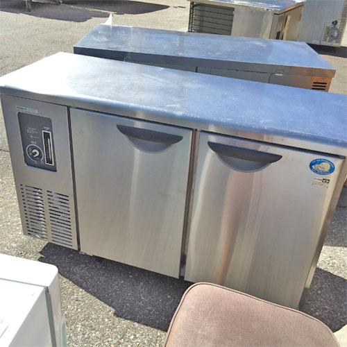 【中古】冷蔵コールドテーブル サンヨー SUC-N1241J 幅1200×奥行455×高さ800 【送料別途見積】【業務用】