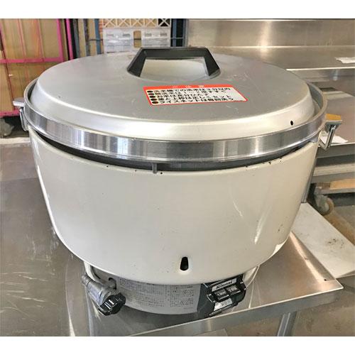 【中古】ガス炊飯器 リンナイ RR-50S1 幅525×奥行481×高さ434 都市ガス 【送料無料】【業務用】