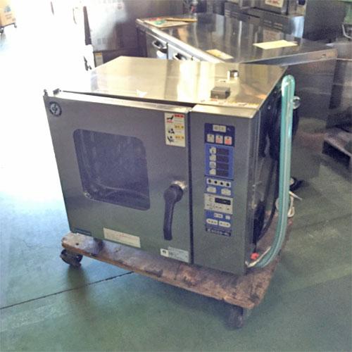 【中古】スチームコンベクションオーブン ニチワ電機 SCOS-5230RL-RMP 幅745×奥行560×高さ690 三相200V 【送料別途見積】【業務用】【厨房機器】