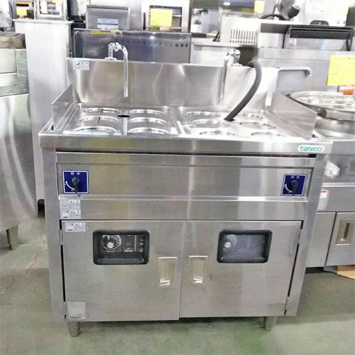 【中古】ゆで麺機 タニコー TEU-85W 幅850×奥行600×高さ800 三相200V 【送料別途見積】【業務用】