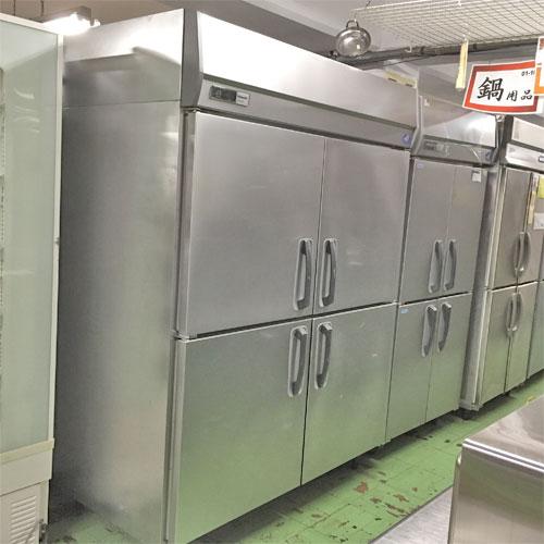 【中古】冷蔵庫 パナソニック(Panasonic) SRR-J1581VSA 幅1460×奥行800×高さ1950 【送料別途見積】【業務用】