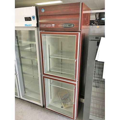 【中古】冷蔵リーチインショーケース ホシザキ RS-63XT-2G-B-(L) 幅630×奥行660×高さ1900 【送料無料】【業務用】