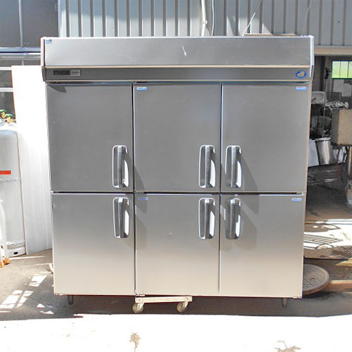 【中古】縦型冷凍冷蔵庫 パナソニック(Panasonic) SRR-K1863C4A 幅1785×奥行650×高さ1950 三相200V 【送料別途見積】【業務用】