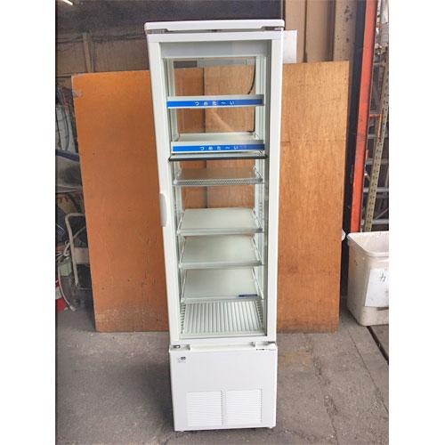 【中古】冷蔵4面ショーケース サンデン SPAS-H522X-F 幅500×奥行600×高さ1845 【送料別途見積】【業務用】