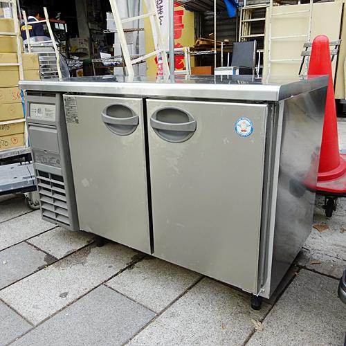 【中古】冷凍冷蔵コールドテーブル 福島工業(フクシマ) YRC-121PE2 幅1200×奥行600×高さ800 【送料別途見積】【業務用】