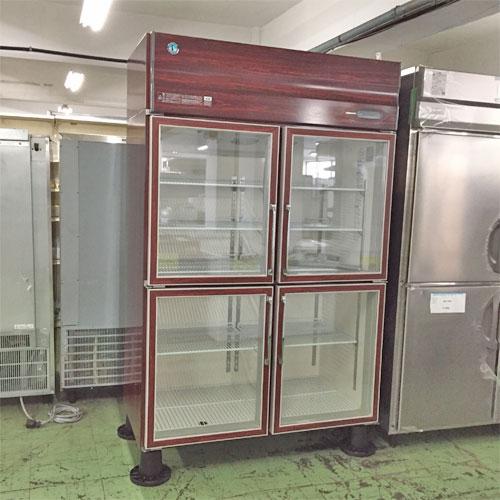 【中古】冷蔵リーチインショーケース(木目) ホシザキ RS-120XT-4G-B 幅1200×奥行650×高さ1950 【送料別途見積】【業務用】