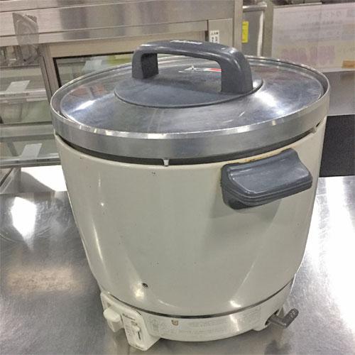 【中古】ガス炊飯器 パロマ PR-403S 幅412×奥行337×高さ371 都市ガス 【送料別途見積】【業務用】