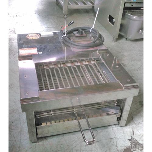 【中古】電気式焼物器 二刀流 ヒゴグリラー H-123YC 幅450×奥行600×高さ250 【送料無料】【業務用】