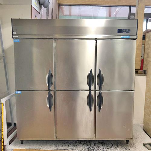【中古】6ドア冷凍冷蔵庫 大和冷機 623S2-PL-EC 幅1800×奥行800×高さ1920 三相200V 【送料別途見積】【業務用】