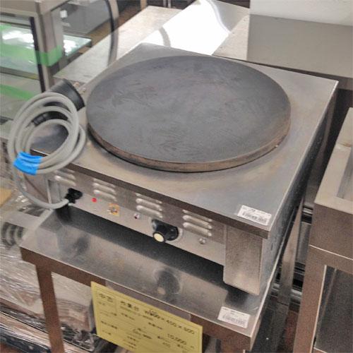 【中古】クレープ焼き器 エイシン EC-2000 幅500×奥行500×高さ190 【送料無料】【業務用】