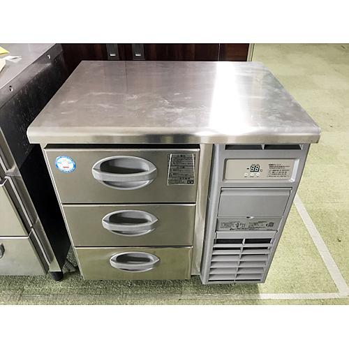 【中古】冷凍ドロワーコールドテーブル フクシマガリレイ(福島工業) YDC-083FM2-R 幅755×奥行600×高さ800 【送料別途見積】【業務用】