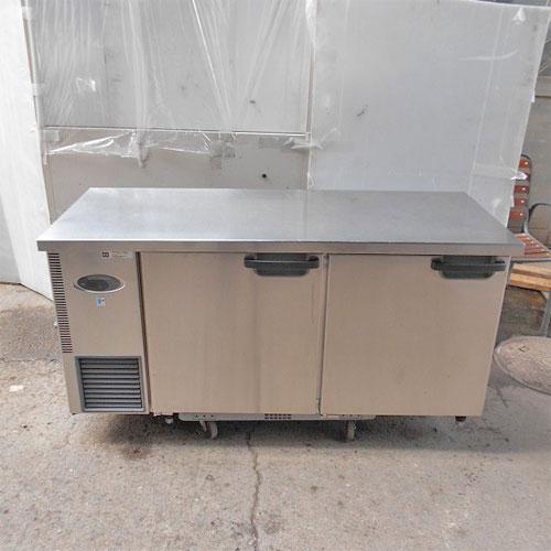 【中古】冷蔵コールドテーブル フジマック FRT1560JF 幅1500×奥行600×高さ800 【送料別途見積】【業務用】