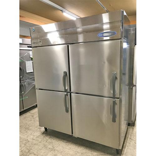 【中古】縦型冷凍庫 ホシザキ HF-150XT3 幅1500×奥行800×高さ1900 三相200V 【送料別途見積】【業務用】