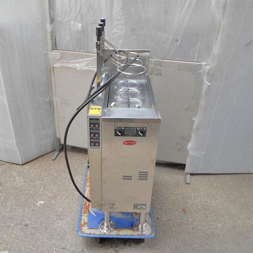 【中古】電気ゆで麺機 サニクック UML521E 幅330×奥行650×高さ1140 三相200V 【送料別途見積】【業務用】