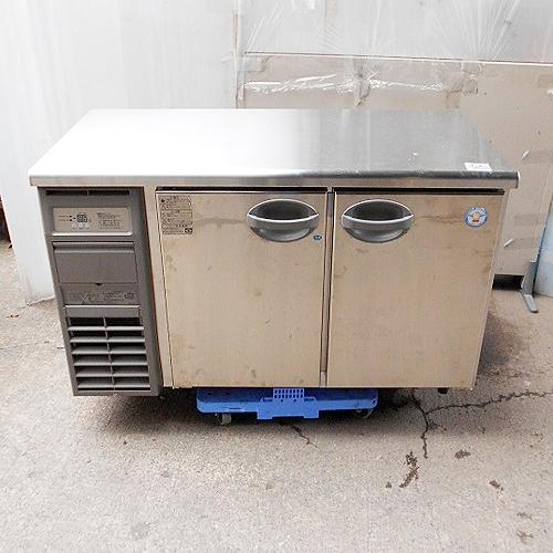 【中古】冷凍冷蔵コールドテーブル 福島工業(フクシマ) YRC-121PM2 幅1200×奥行600×高さ800 【送料別途見積】【業務用】