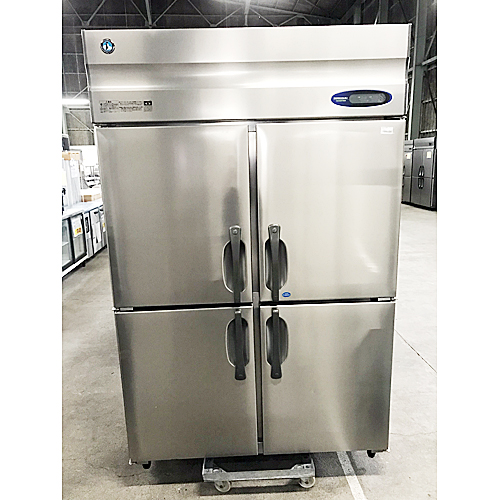 【中古】縦型冷凍冷蔵庫 ホシザキ HRF-120Z 幅1200×奥行800×高さ1890 【送料別途見積】【業務用】