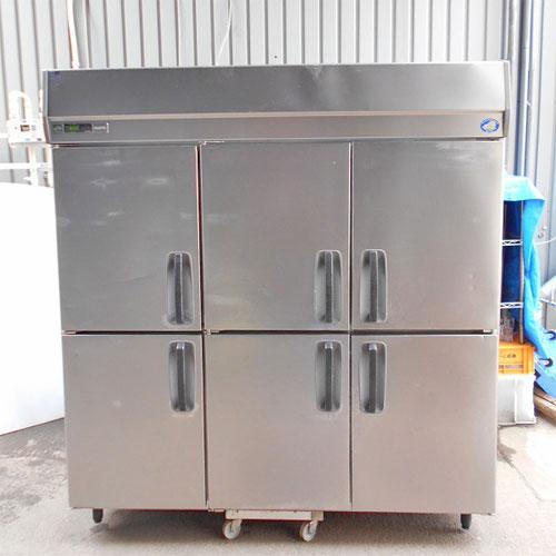 【中古】縦型冷蔵庫 三洋電機 SRR-J1881V 幅1790×奥行800×高さ1950 【送料別途見積】【業務用】