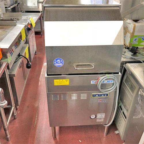 【中古】食器洗浄機(リターンタイプ) 日本洗浄機 SD64EA6 幅600×奥行600×高さ1260 三相200V 60Hz専用 【送料別途見積】【業務用】