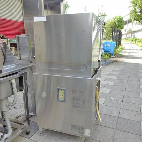 【中古】食器洗浄機 ドアタイプ 横河電子 E5-G08 幅650×奥行750×高さ1380 三相200V 都市ガス 【送料別途見積】【業務用】