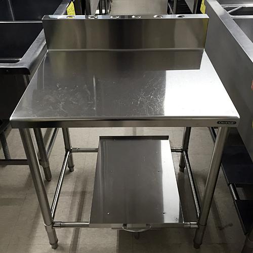 【中古】炊飯台 クリナップ 幅750×奥行600×高さ800 【送料別途見積】【業務用】