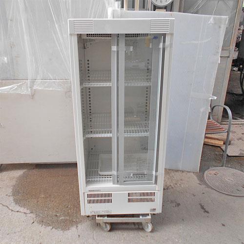 【中古】冷蔵ショーケース パナソニック(Panasonic) SMR-H138NB 幅600×奥行550×高さ1395 【送料別途見積】【業務用】