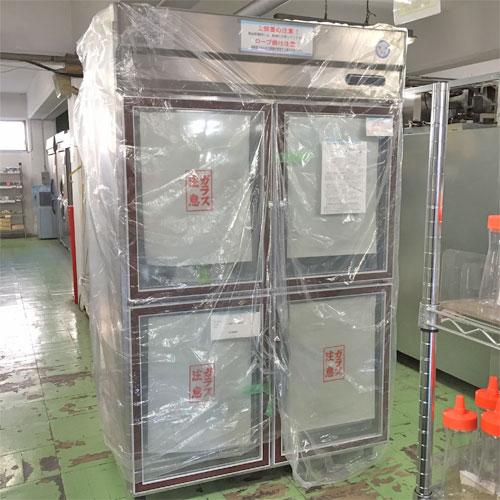 【中古】冷蔵リーチインショーケース 福島工業(フクシマ) UGD-120AGT7 幅1200×奥行800×高さ1940 三相200V 【送料別途見積】【業務用】