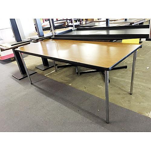 【中古】長テーブル 幅1800×奥行750×高さ700 【送料無料】【業務用】