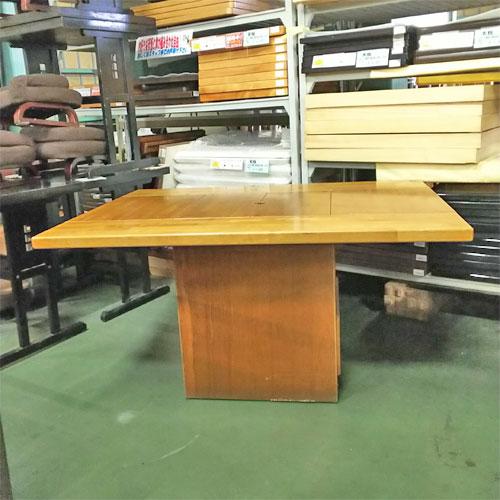 【中古】いろりテーブル ナチュラル 幅1280×奥行960×高さ650 【送料別途見積】【業務用】